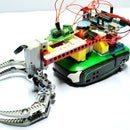 Mobile Robotic Arm using PHIRO + Arduino