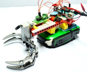 Mobile Robotic Arm Using PHIRO + Arduino