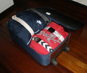 Pack a Suitcase Better Using Belts