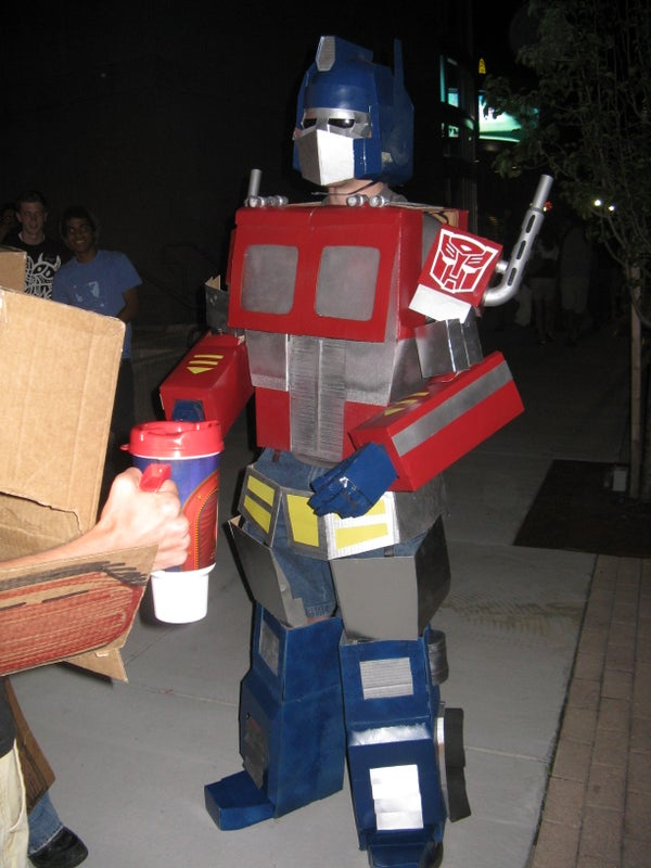 Optimus Prime Transformers Costume