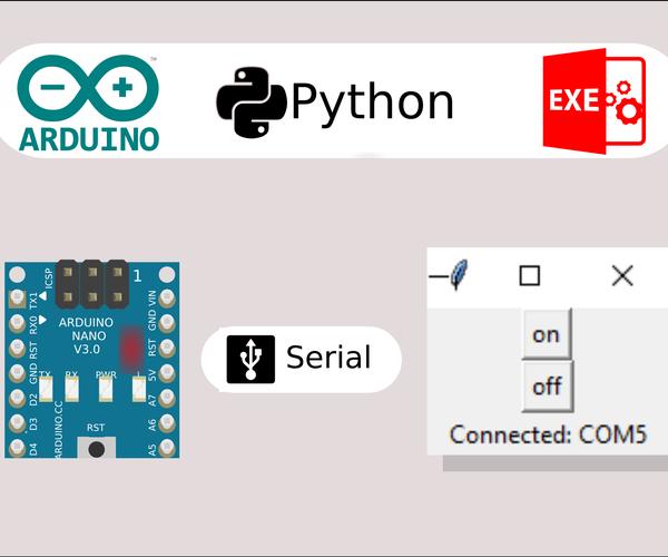 Control Arduino With a Portable App