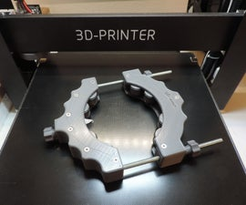 3D Printed Glass Bottle Cutting Tool