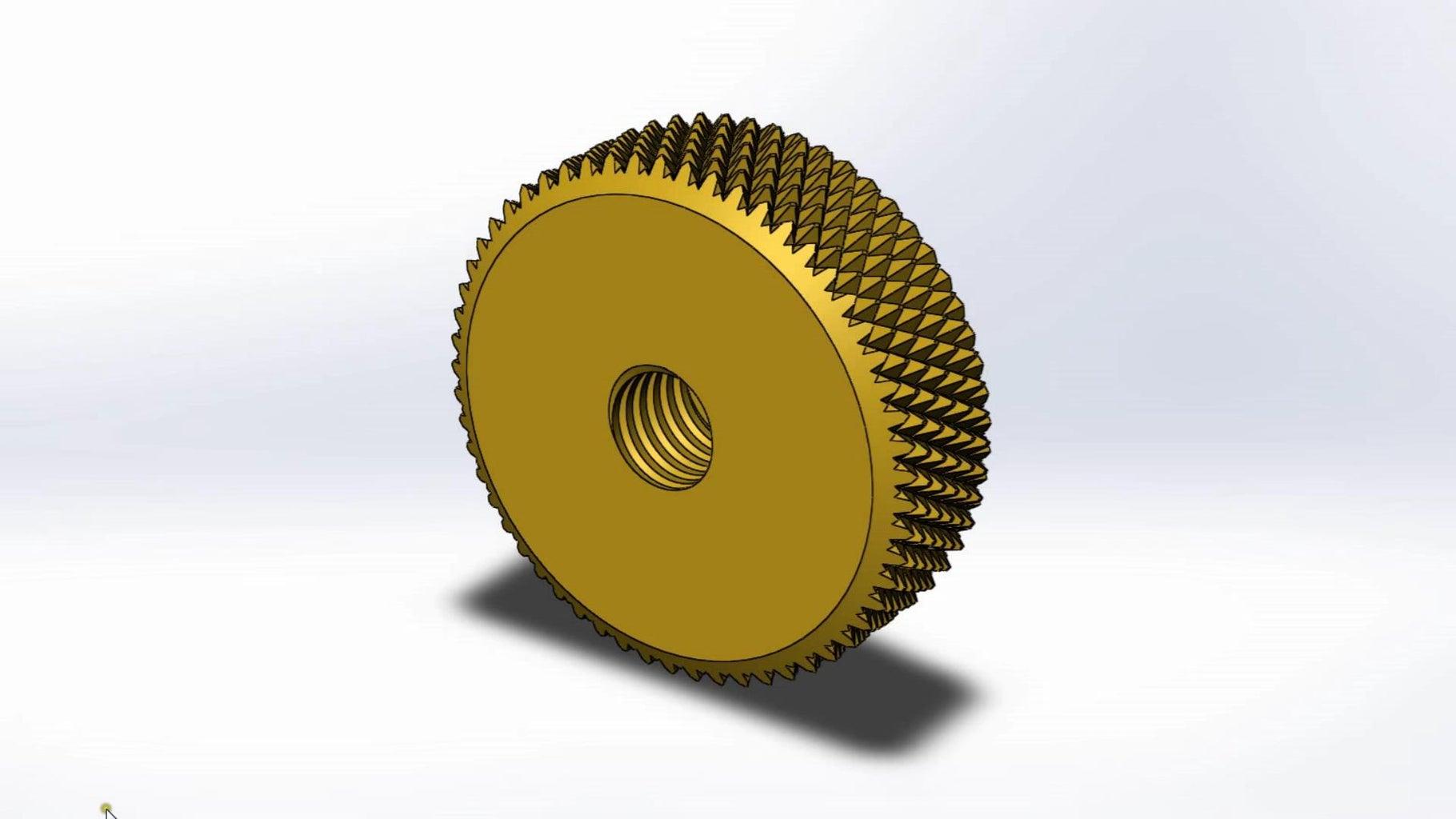 The Lifting Screw Thumbwheel