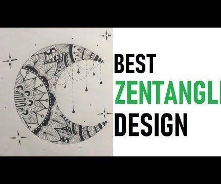 How to Draw Best Zentangle Design Tutorial Youtube Tutorial