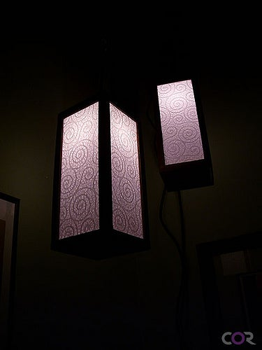 Convert a Regular IKEA APPLARO Lamp Into a Pretty Lamp.