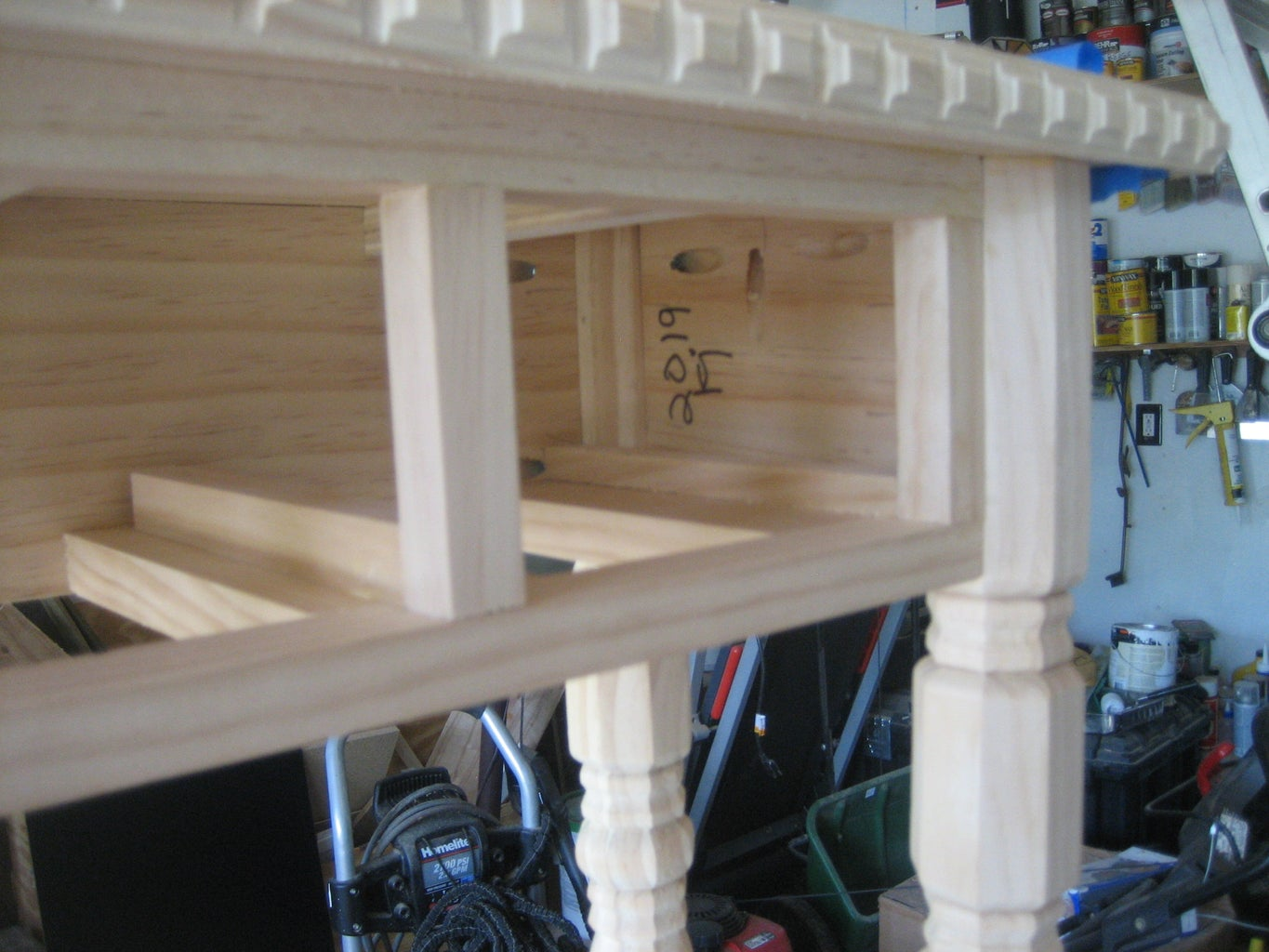 SPACING DRAWERS AND ADDING DRAWER GUIDES