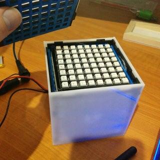LED Matrix Cube