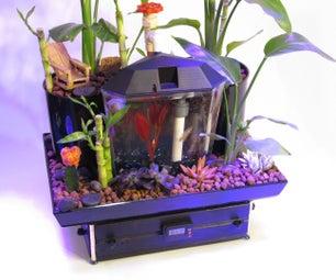 The Betta Garden - 5 Gallon Aquaponics System