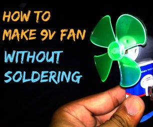 Homemade Pocket Fan | Very Easy #