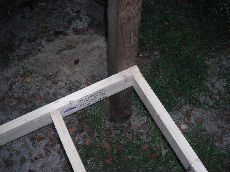 Column Foundation & Floor Frame