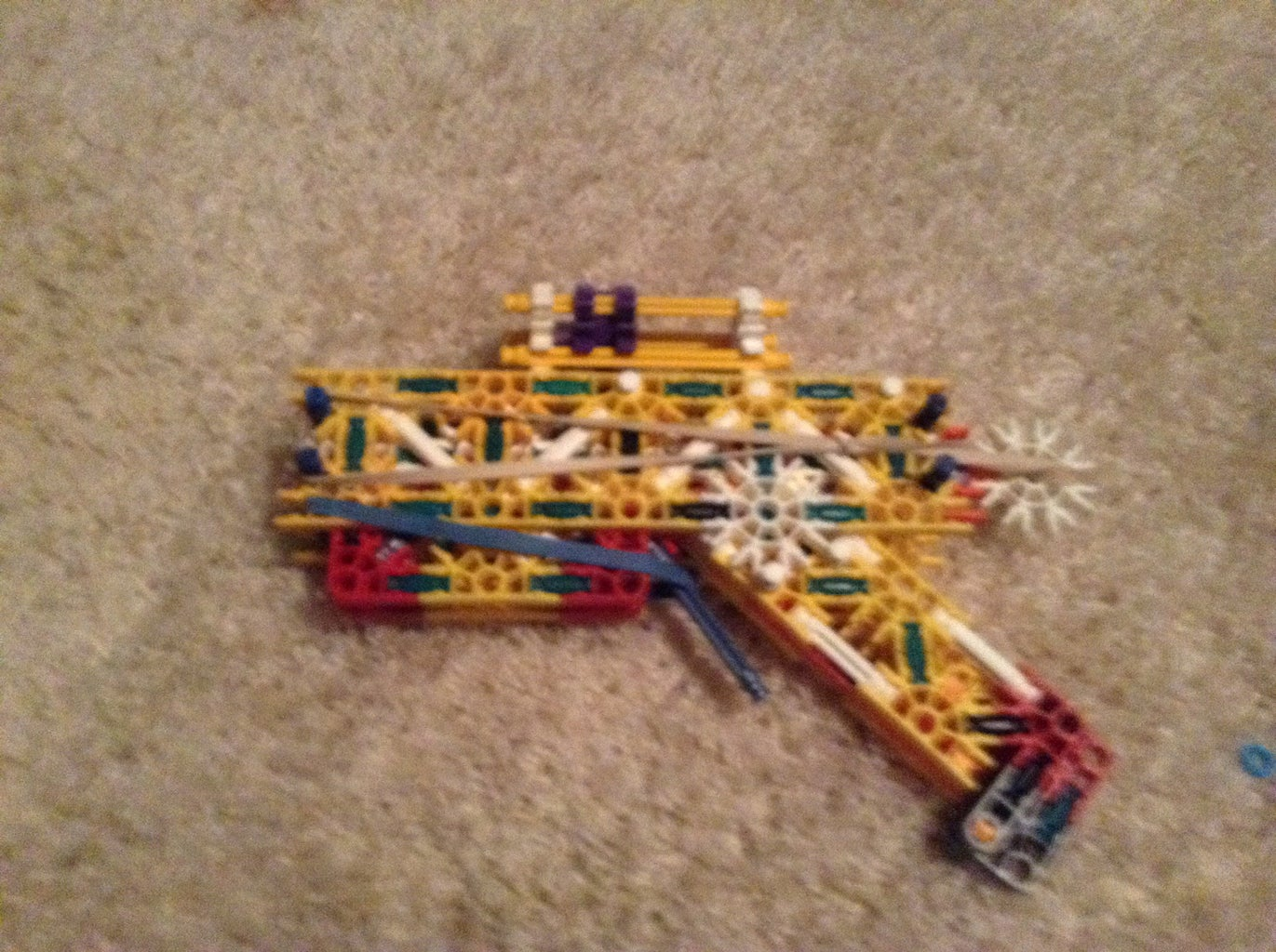 Knex Esd Pistol Turned Battle Weapon