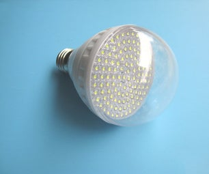 DIY Energy Saving LED Lamp Kit Installation