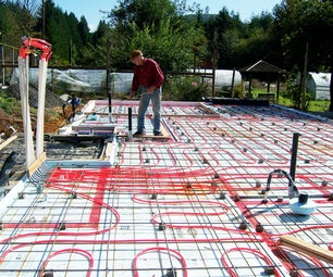 RADIANT FLOOR HYDRONIC (water) HEATING SYSTEM