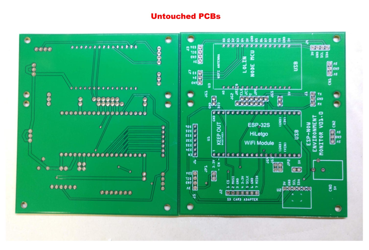 The PCBs