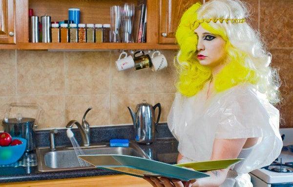 Lady Gaga Telephone Video Costume