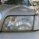 Restore Hazy, Fogged, Yellowed, Headlights in 5 Minutes