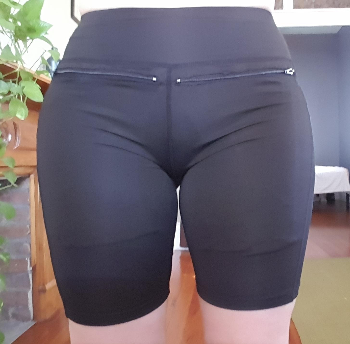Ladies Zipper Pocket Underpants