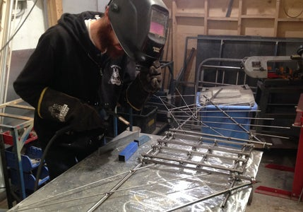 Welding the Other Pieces