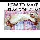 EASY PLAY DOH SLIME