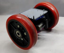 Arduino Based Self Balancing Bot