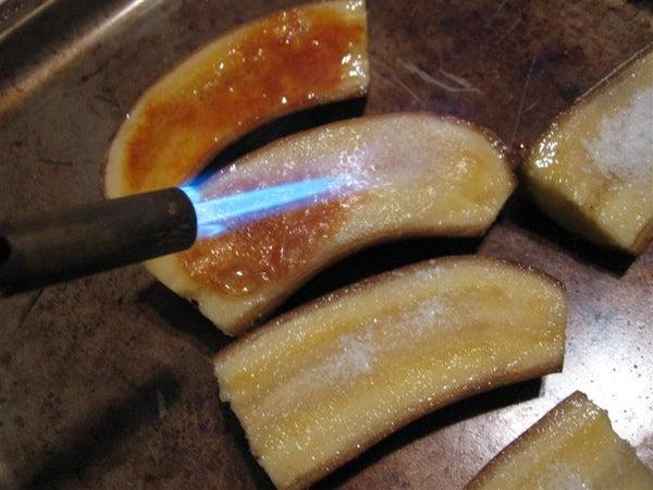 Bananas Brulee