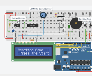 The Reaction Game - Arduino Project