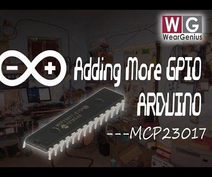 MCP23017 16 Pin Port Expander Interfacing with Arduino