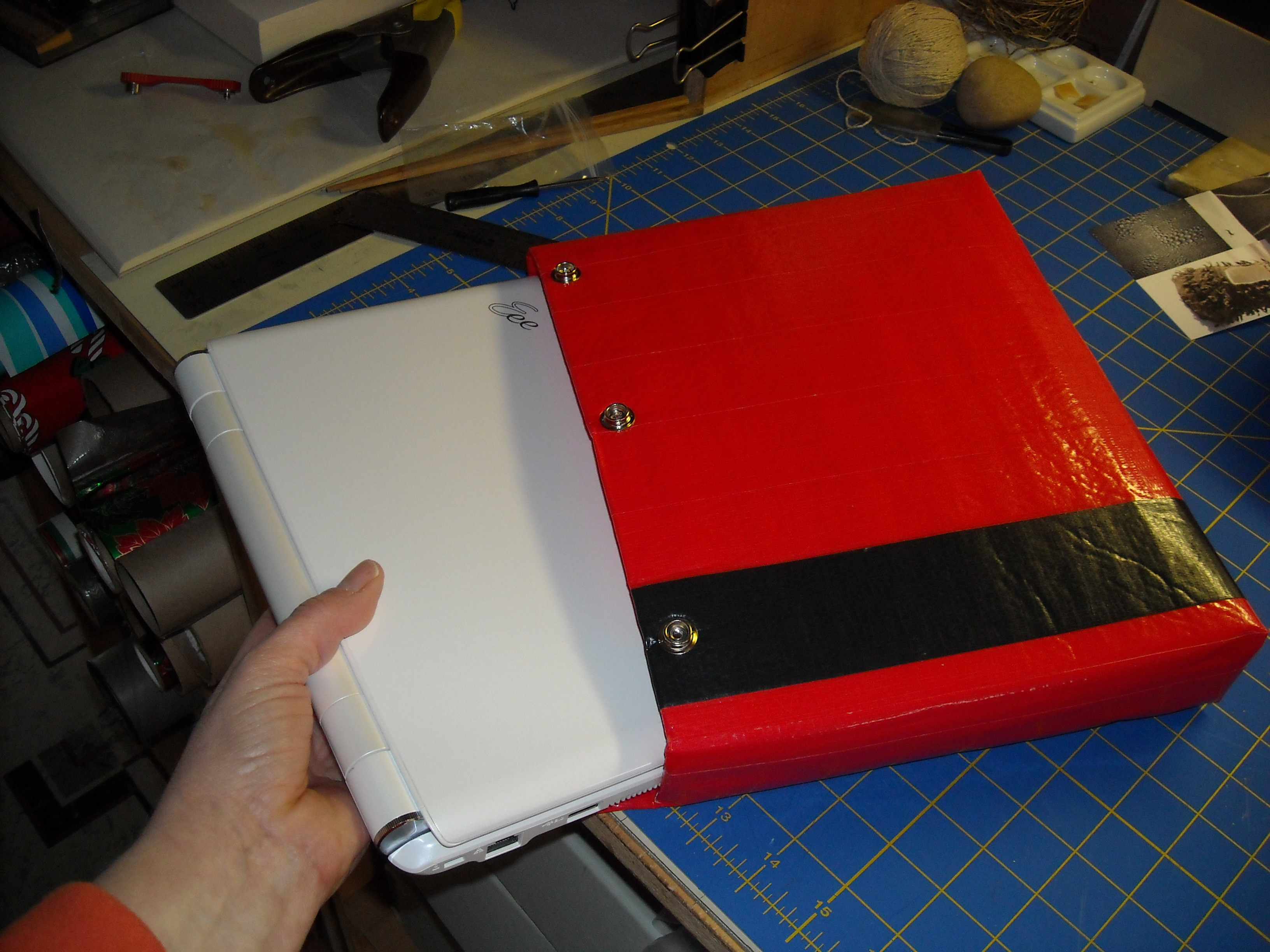 Cushioned Duct Tape Laptop Sleeve