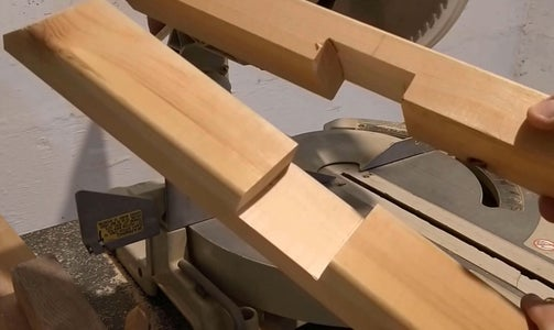 Woodworking - Crane's Tower Base - Joint Is Ready