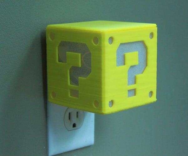 Mario Question Block Solar Monitor