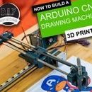 简易三维可打印Arduino数控绘图机