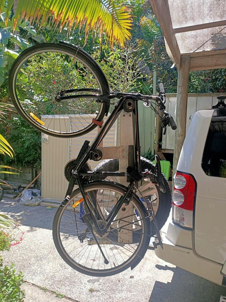 Swing Out Bike Rack