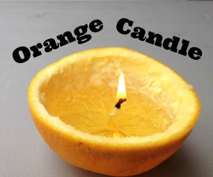 Turn an Orange Into a Candle!