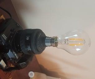 Retro Camera Lamp