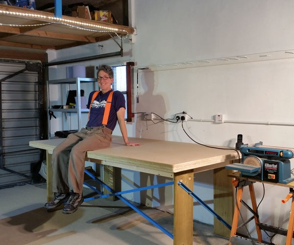 Very STURDY and Flat 4'x8' Workbench Table