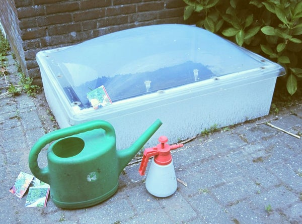 A Glassless Cold Frame / Mini-greenhouse