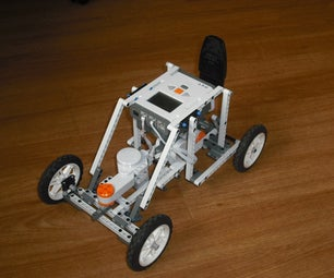 LEGO Mindstorms NXT: Roadster PSP-NX Supercharged