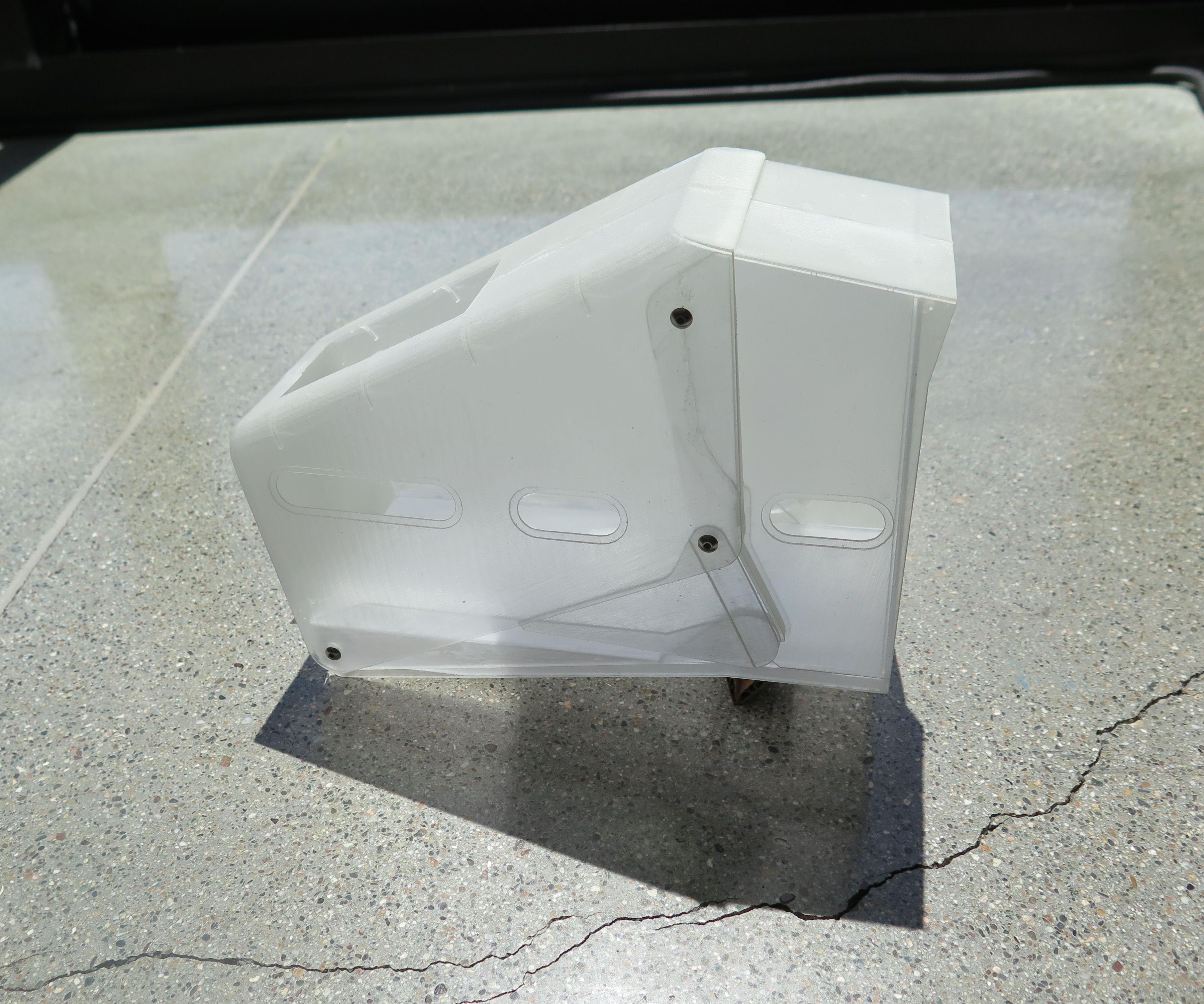 Escape Pod: 3D Printed Scale Model