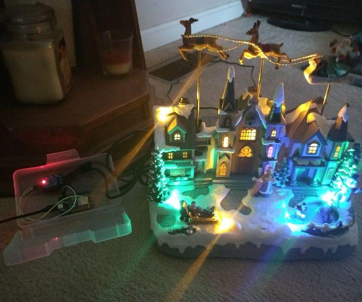 ESP8266/Arduino SmartThings Relay for Christmas Lights