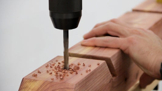 Drill Mounting Holes