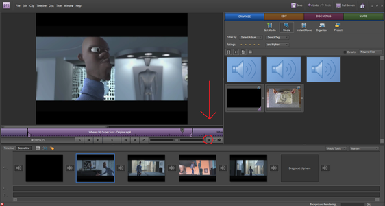 Editing Your Video Continued