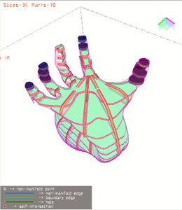 Processing in 123D Make