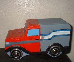 Optimus Prime Cadburys Storage Tin