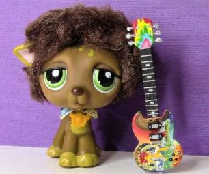 "Eric Clapton ""The Fool"" Miniature Guitar"