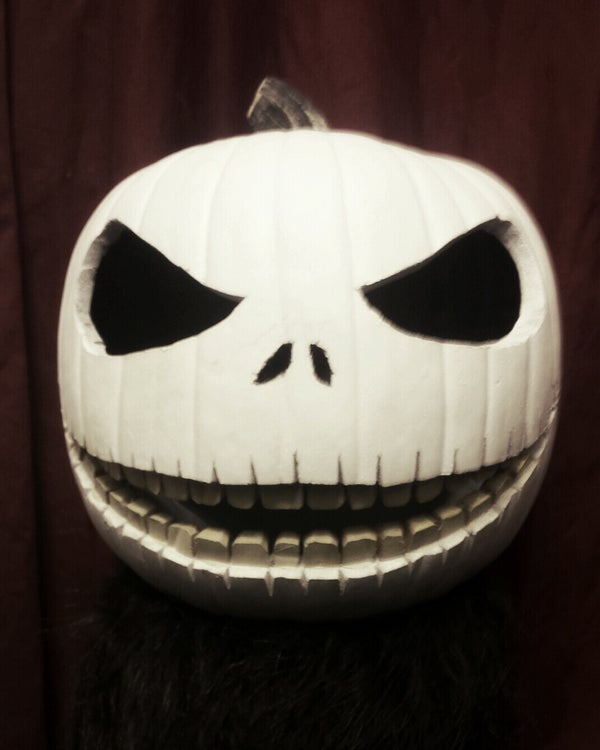 """Jack Skellington Pumpkin Carving """"The Pumpkin King"""""""