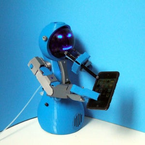 3d Printing: Zizzy-A Robot Assistant