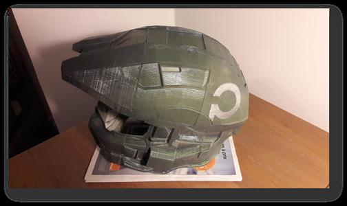 Spartan Voice Changer Helmet