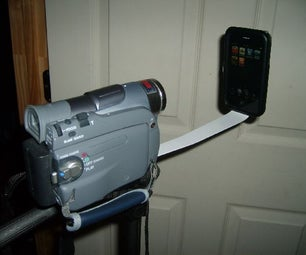 Cheap and Easy IPhone Video Camera Mount
