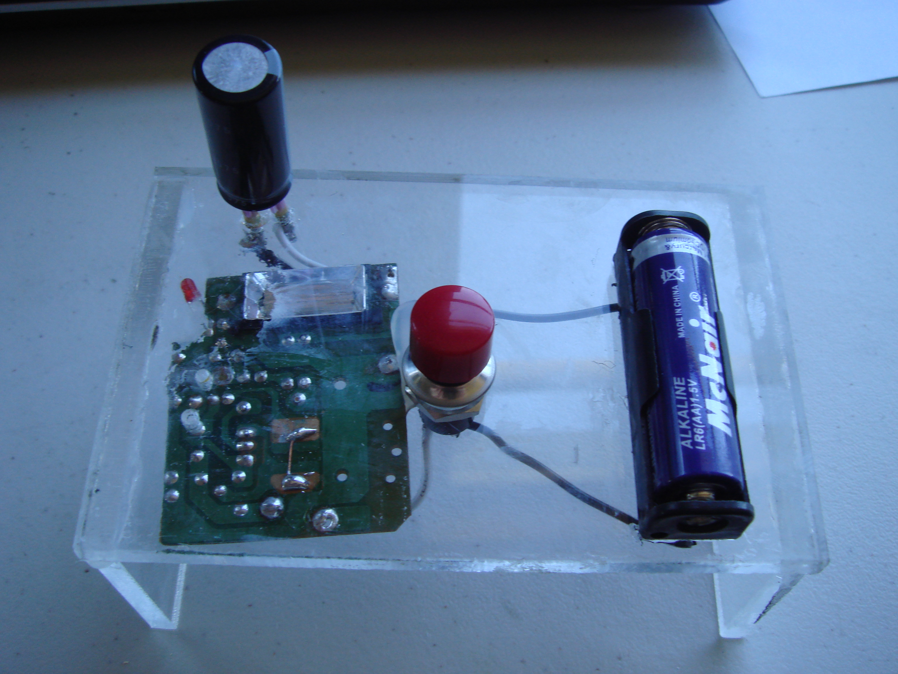 Capacitor Charger
