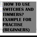How to Use Switches and Timers in WPLSoft? | Examples (Beginners)